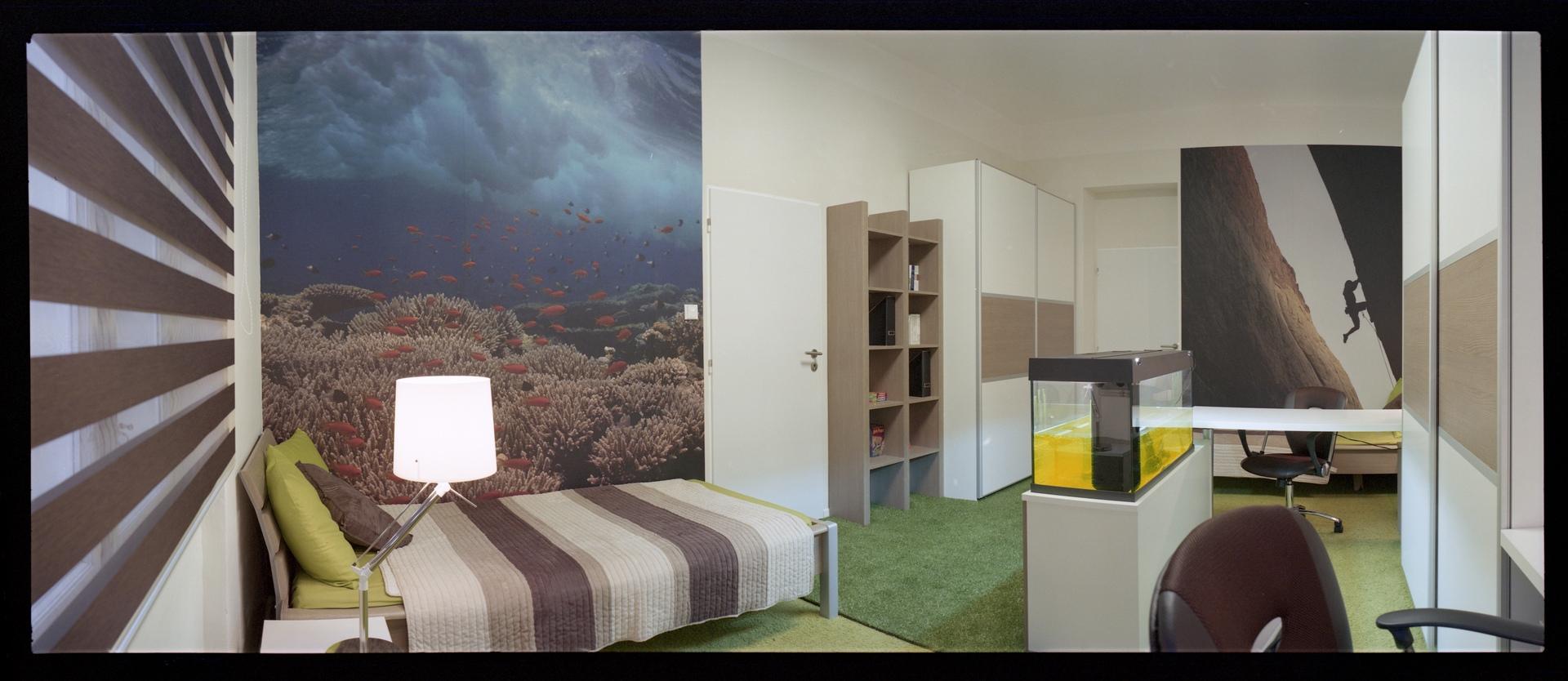 jak se staví sen - dva dětské pokoje 5