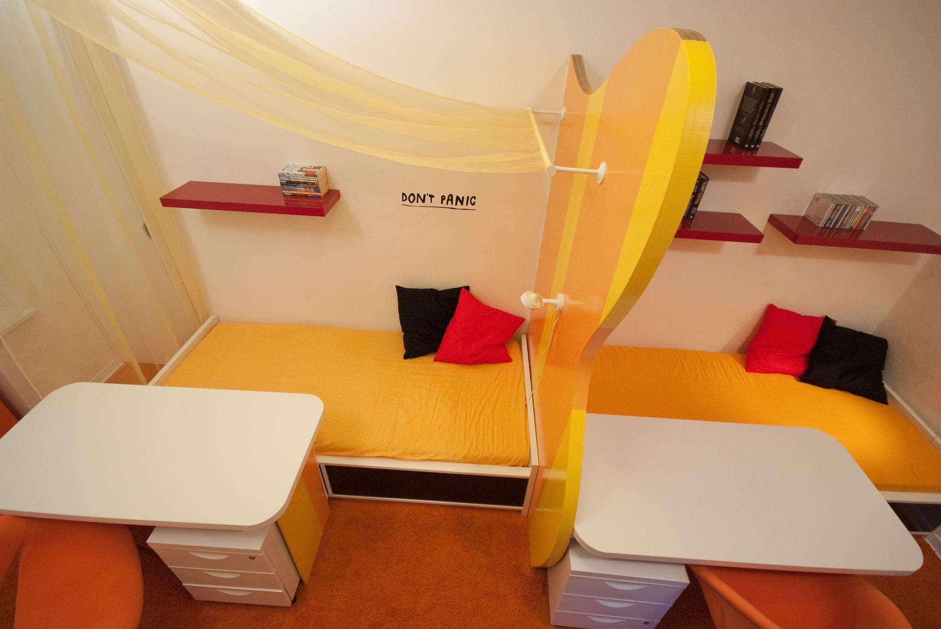 dětský funky pokoj 2