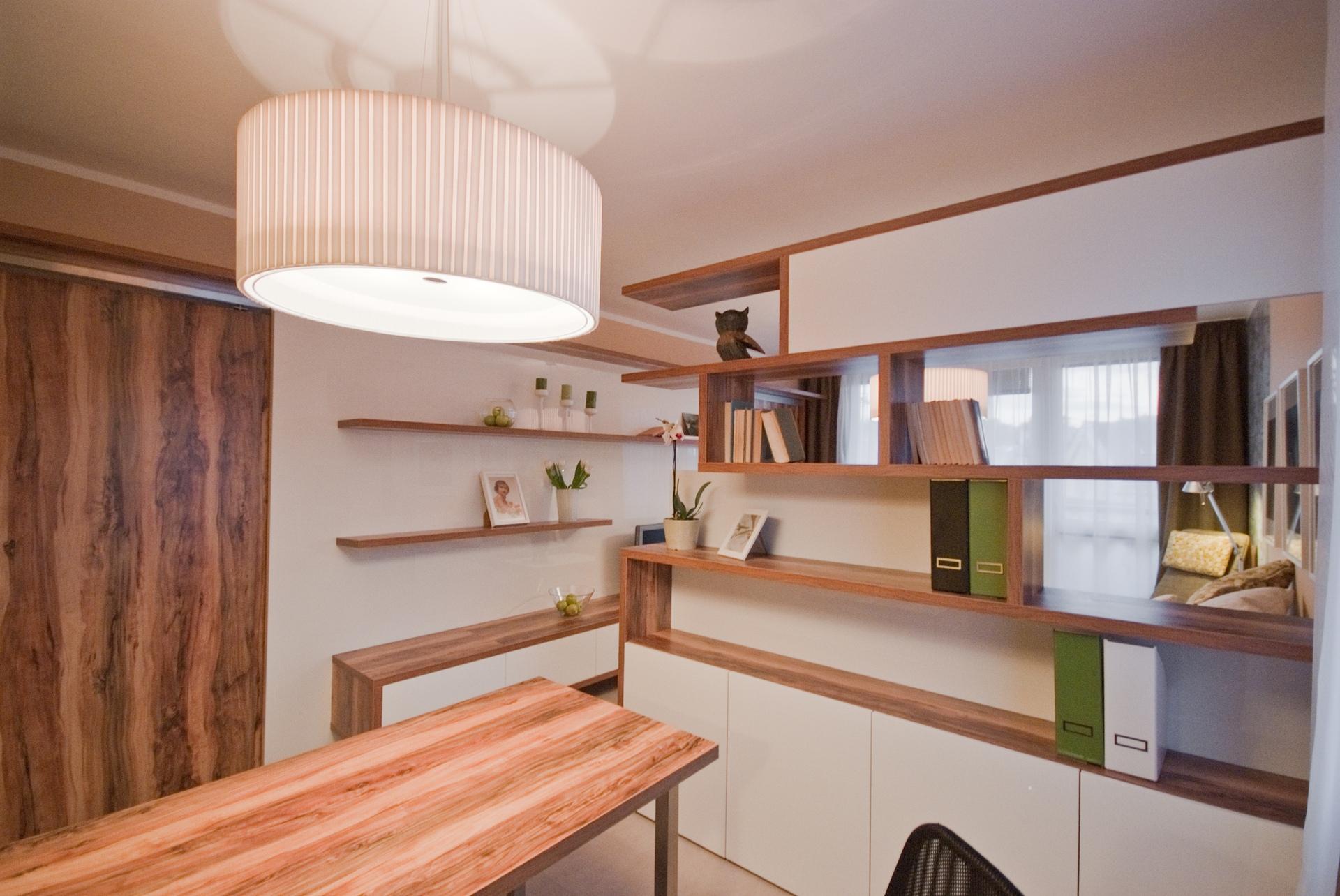 jak se staví sen - obývací pokoj s pracovním koutem 5