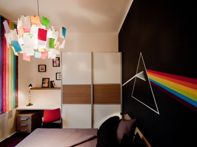 jak se staví sen - dva dětské pokoje 1