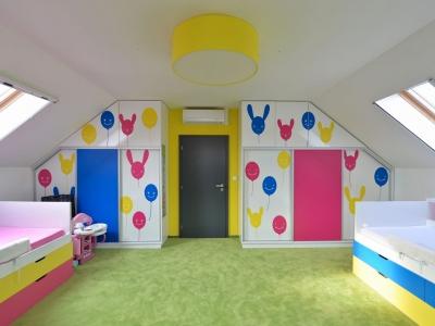 dětský pokoj Líbeznice1