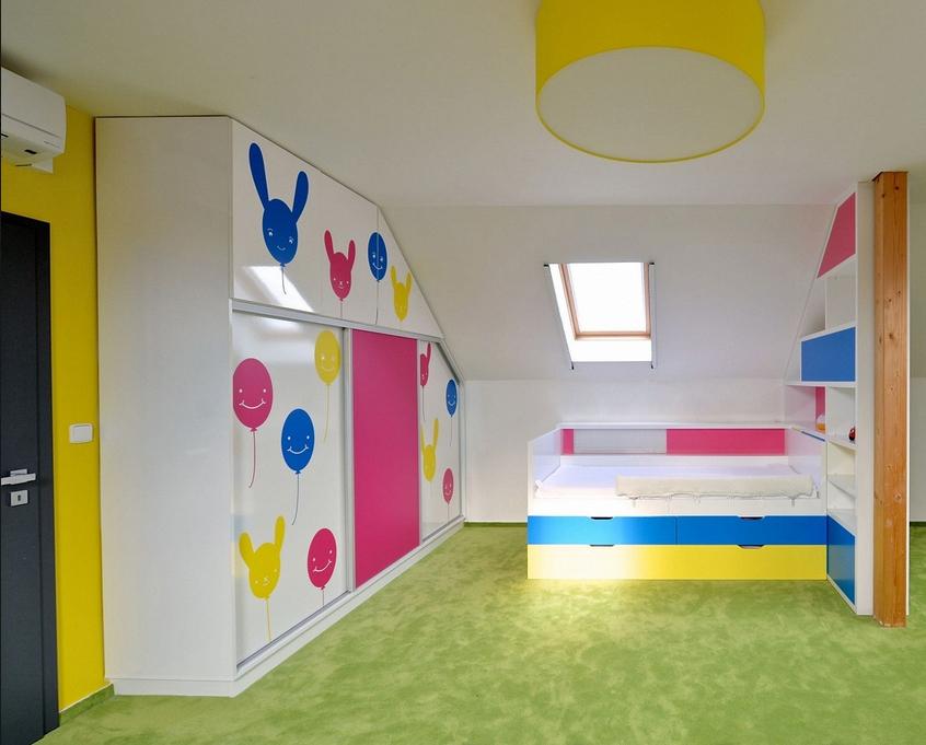 dětský pokoj Líbeznice2